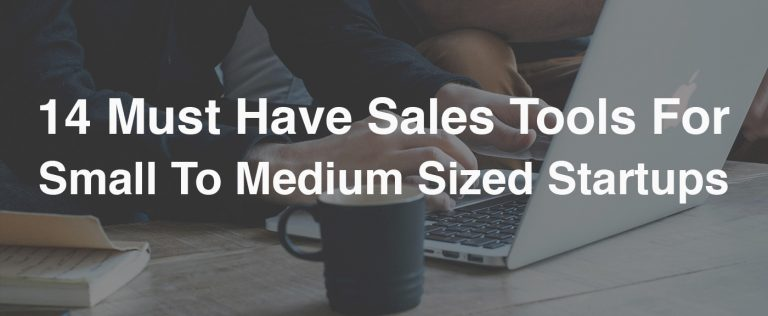 sales tools for startups
