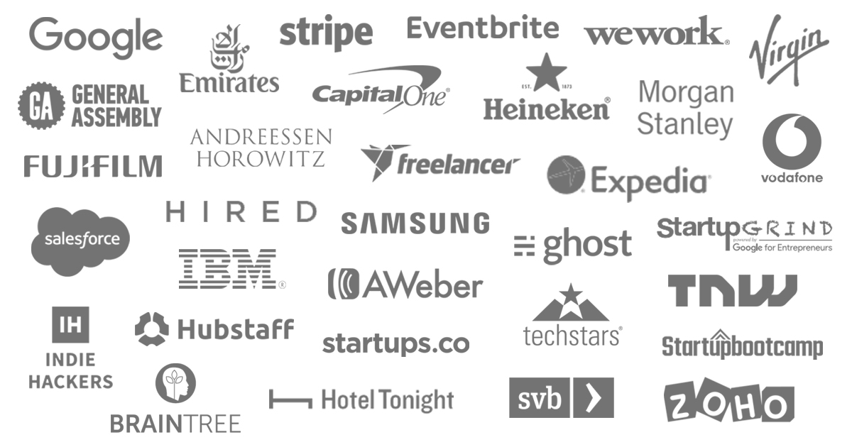 Companies that read our startup newsletter
